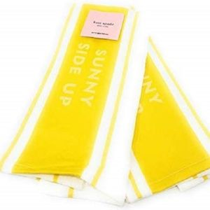 NWT - Set of 2 Kate Spade Sunny Side Up Towels